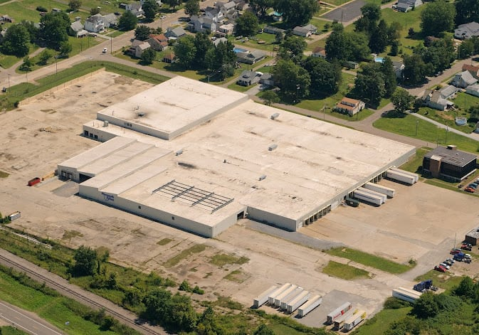Facility shared by Plymouth Foam and Progressive Foam, located in Gnadenhutten, Ohio Photo courtesy of Plymouth Foam