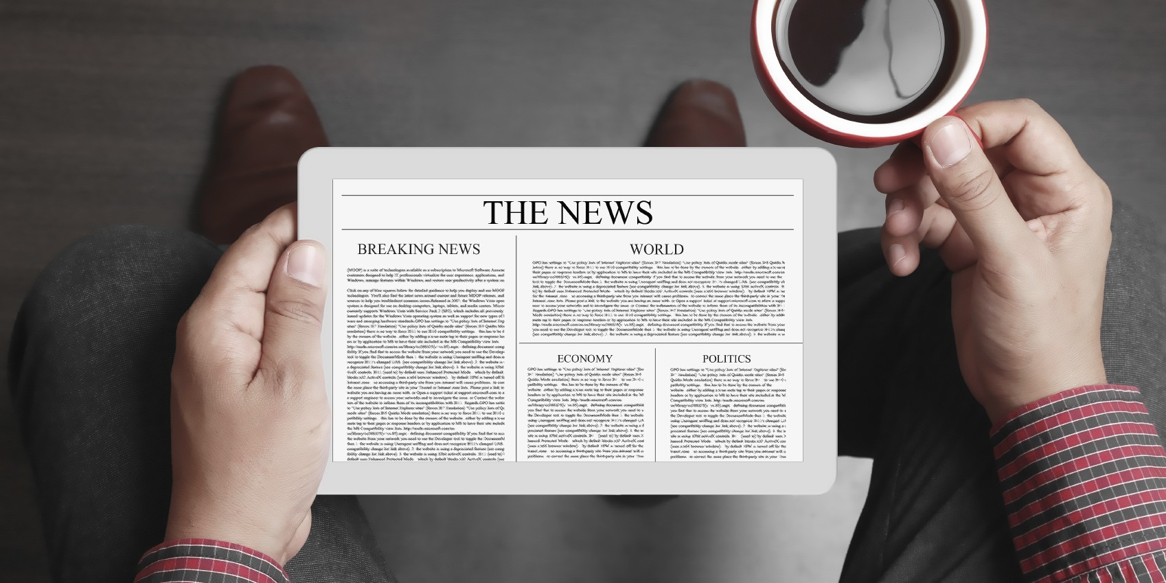newspaper-tablet