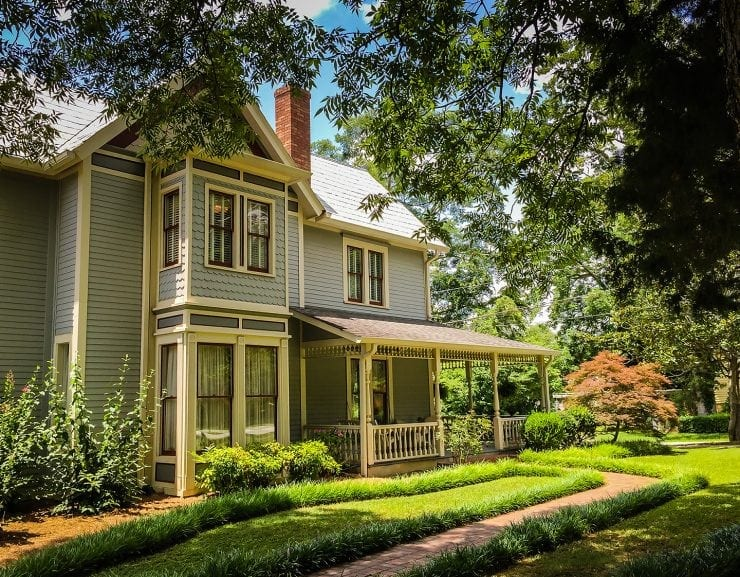 Folk Victorian Style Home