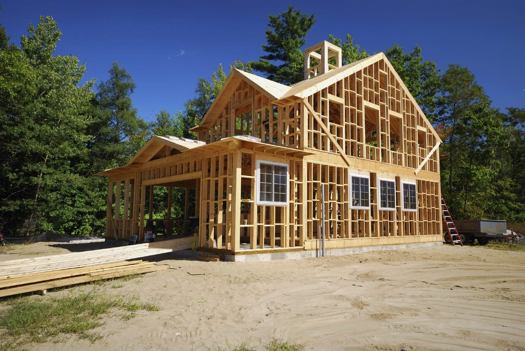 wood-house-frame